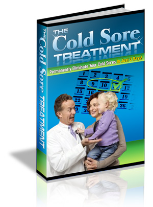 how to stop a cold sore from bleeding