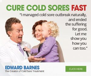 cure cold sores fast