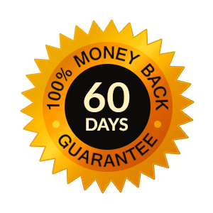 60 Days 100% Money Back Guarantee