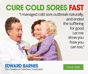 Cure Cold Sores Fast - The Cold Sores Treatment